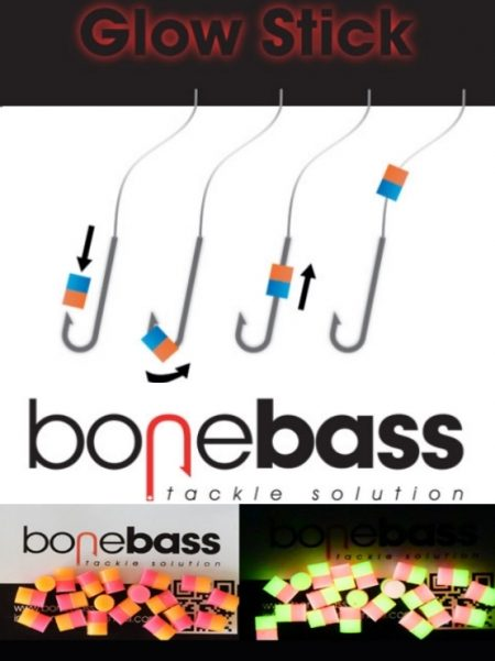 BONEBASS GLOW STICK DOBLE COLOR