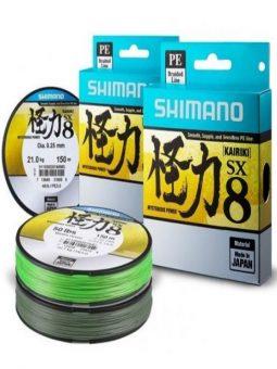 SHIMANO KAIRIKI SX 8 BRAID 300 M