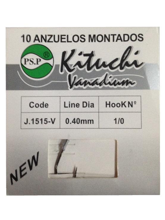 ANZUELOS MONTADOS RECTO KITUCHI CARBONO
