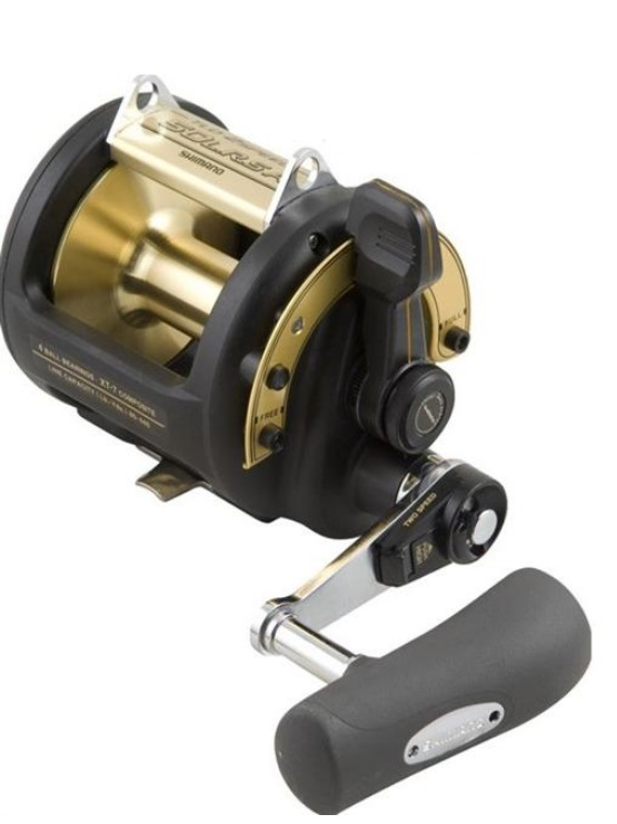 CARRETE SHIMANO TLD 2SPEED 50 LRS