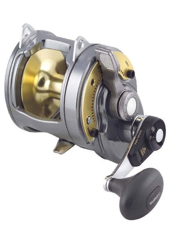 CARRETE SHIMANO TYRNOS 30 LBS 2 SPEED