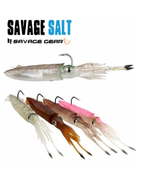 SEÑUELO SAVAGE GEAR SALT 3D SWIM SQUID 188 MM 63 GR